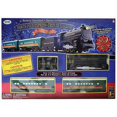 Железная дорога Eztec North Pole Express Train Set