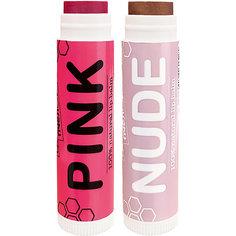 Бальзам для губ Сделано пчелой, с пчелиным воском Pink & Nude, 8,5 г
