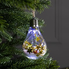 Елочный шар лампочка Luazon Lighting