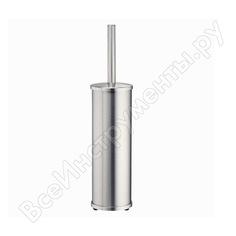 Напольная щетка для унитаза wasserkraft матовый хром k-1047