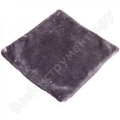 Накидка сиденья skyway искусственный мех, мутон, 1 шт, без спинки, серый s03003005