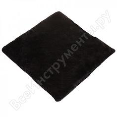 Накидка сиденья skyway искусственный мех, мутон, 1 шт, без спинки, черный s03003004