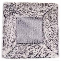 Накидка сиденья skyway arctic искусственный мех, 2 предмета, без спинки, серый s03002005