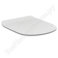 Крышка-сиденье ideal standard tesi с микролифтом, петли хром t352701