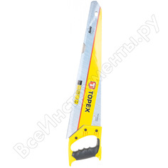 Ножовка по дереву topex shark 500мм 10a452