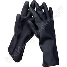 Латексные двухслойные сантехнические перчатки зубр, кщс, размер xl 11269-xl_z01