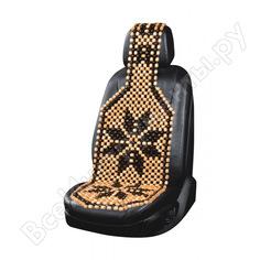 Массажная накидка на сиденье с рисунком kraft kt 835442