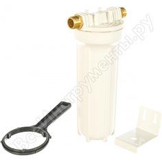 """Магистральный фильтр для воды со сменным картриджем гейзер 1п 3/4"""" металлическая скоба 32005"""