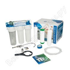 Четырехступенчатый фильтр под мойку aquafilter fp3-hj-k1 505