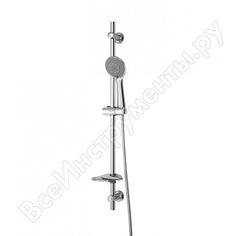 Душевой комплект dorff norma, ручной душ 5 функций, стойка 600 мм, шланг 1750 мм d0101000