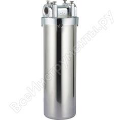 """Магистральный фильтр для горячей воды ustm wf-hot-ss-10 steel cover нержавеющий вход 3/4"""" с ключом и кронштейном 33364"""