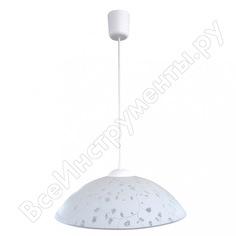 Светильник элетех флора 360 нсб 72-60 м50 матовый белый /шнур белый иу 1005251483