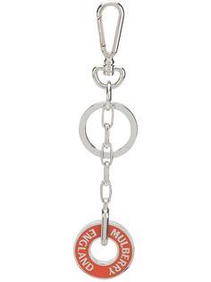 Mulberry брелок для ключей с логотипом