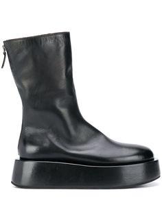 Marsèll ботинки на платформе с молнией сзади
