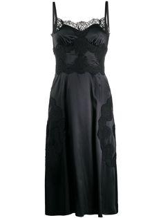 Dolce & Gabbana платье с кружевом
