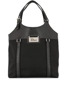 Christian Dior сумка-тоут Street Chic pre-owned с узором Trotter