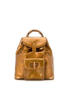 Gucci Pre-Owned рюкзак Bamboo с кулиской