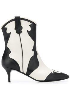 Pollini ковбойские ботинки с заостренным носком