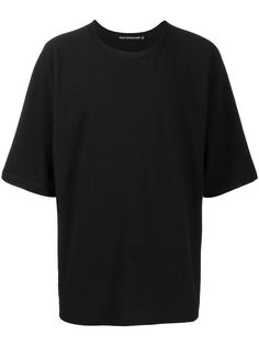 Issey Miyake Men футболка оверсайз с круглым вырезом