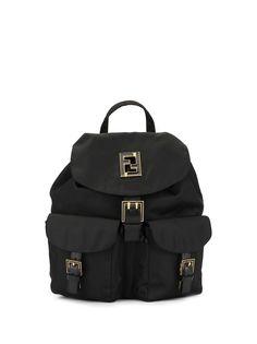 Fendi Pre-Owned рюкзак с логотипом FF