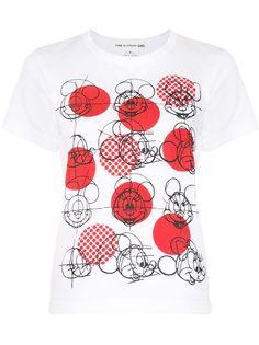 Comme Des Garçons Girl футболка с принтом Mickey Mouse