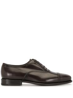 Salvatore Ferragamo туфли дерби на шнуровке