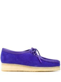 Clarks Originals туфли Wallabee на шнуровке