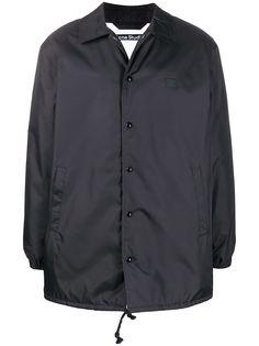 Acne Studios куртка-рубашка оверсайз