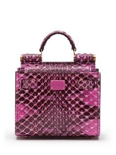 Dolce & Gabbana маленькая сумка-тоут Sicily 58
