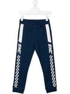 Stella McCartney Kids спортивные брюки в клетку