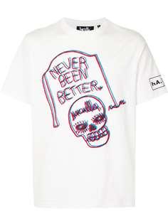 Haculla футболка с принтом