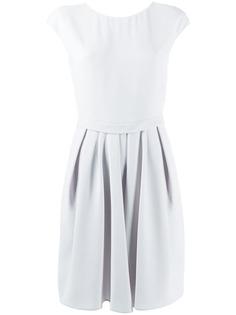 Emporio Armani платье мини с короткими рукавами