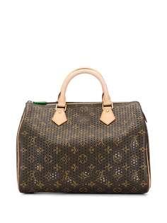Louis Vuitton сумка-тоут Speedy 30 2006-го года с перфорацией