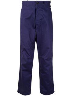 Comme Des Garçons Shirt брюки прямого кроя