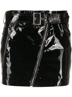 Manokhi лакированная юбка мини