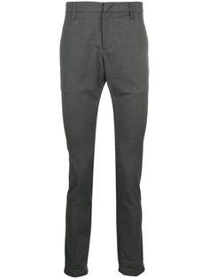 Dondup клетчатые брюки прямого кроя