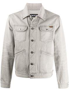 TOM FORD джинсовая куртка с карманами