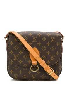 Louis Vuitton сумка на плечо St Cloud 1999-го года с монограммой