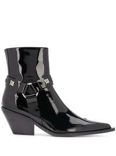 MISBHV ковбойские ботинки с заостренным носком