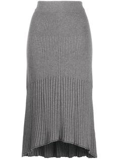 Calvin Klein юбка в рубчик