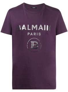Balmain футболка с логотипом