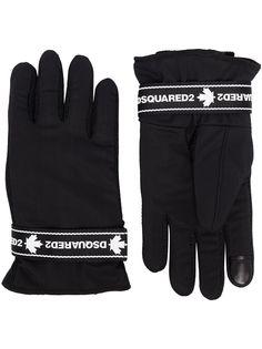 Dsquared2 перчатки с логотипом