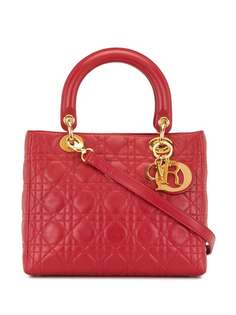 Christian Dior сумка Lady Dior Cannage pre-owned