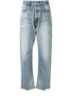 Moussy Vintage широкие джинсы Lomita прямого кроя