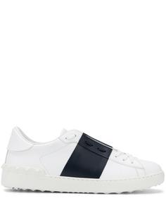 Valentino Garavani кроссовки со вставками в стиле колор-блок и логотипом