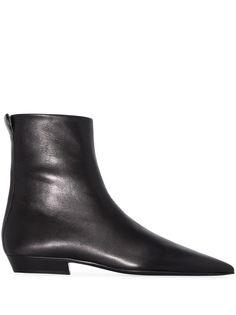 Jil Sander ботинки с заостренным носком