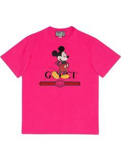 Gucci футболка с логотипом из коллаборации с Disney
