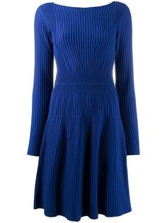 Emporio Armani платье с длинными рукавами