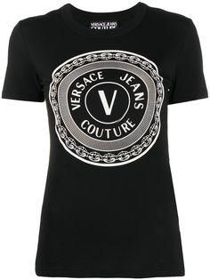 Versace Jeans Couture футболка с принтом V-Emblem