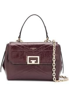 Givenchy стеганая сумка-тоут с логотипом